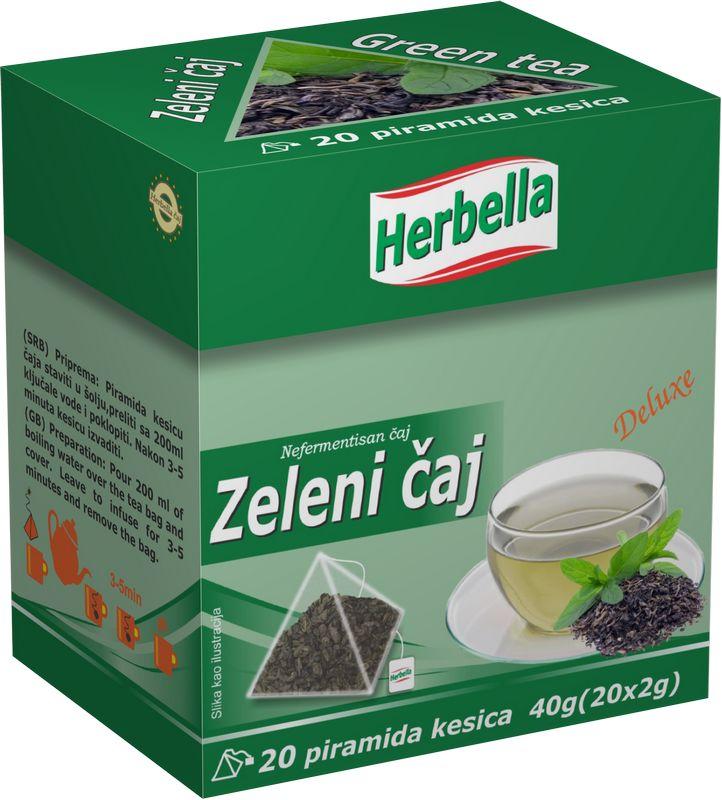 Herbella Zeleni caj u piramida kesici