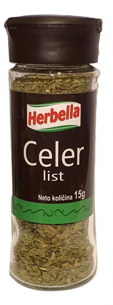 Herbela začin Celer