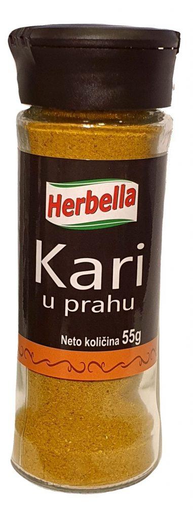 Herbela začin Kari